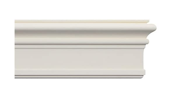 3 moldings Crown Molding 7-1//2 Height 96 Length Manufactured with a Dense Architectural Polyurethane Compound