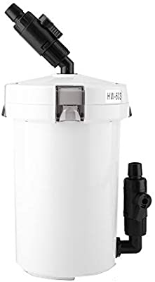 HW-602/603 / HW-602B / HW-603B Filtro de Acuario para Agua Dulce Agua de mar Acuario Tanque de Algas Acuario Tanque de Peces Accesorios para el Filtro del ...