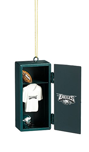 (Team Sports America Philadelphia Eagles Team Locker Ornament)
