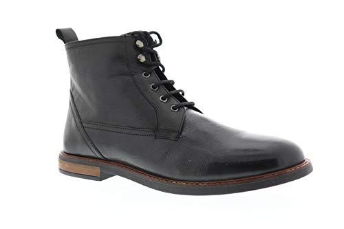 Ben Sherman Men's Birk Plain Toe Boot Oxford, Black, 9.5 M US