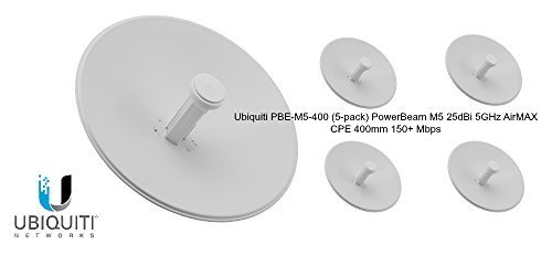 PowerBeam M5 400 25dBi 5-pack by Ubiquiti Networks