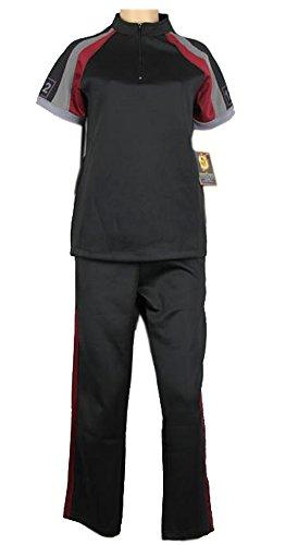 [Hunger Games Training Suit Set Suzanne Collins Shirt Pants District 12 Costume (S)] (District 12 Training Shirt Costume)