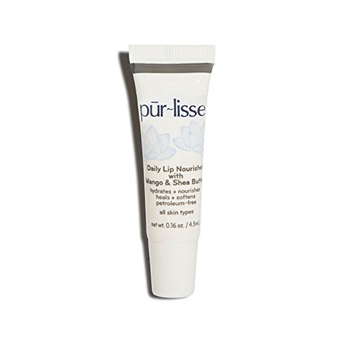 Purlisse Pūr~lisse Daily Lip Nourisher Mango Shea Butter Heals Softens - Petroleum Free 0.16 oz (Purlisse Pur Protect compare prices)