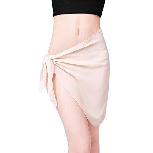 CUSHY Womail Women Beach Cover Up Chiffon Kirt Bikini wimwear Coverup Wrap Kirt wimuit aida de Praia #A40