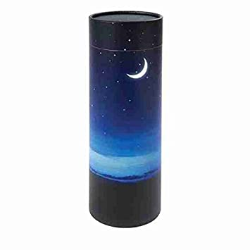 Memorials4u Peaceful-Night Scattering Tube, Biodegradable Cremation Urn to Scatter Ashes – Affordable Urn for Ashes – Eco friendly Urn – Scatter Tube Cremation Urn Deal – Adult Size 14 inch Tall