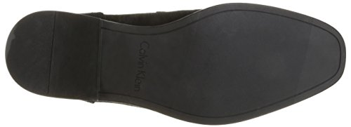 sale manchester great sale Calvin Klein Men's Douggie Oily Suede Slip-on Loafer Black fast delivery online RNevl0KVw