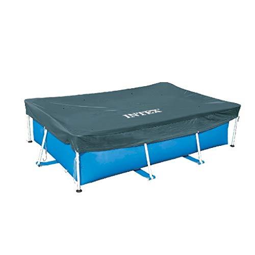 🥇 Intex 28038 – Cobertor piscina rectangular Prisma/small frame 300 x 200 cm