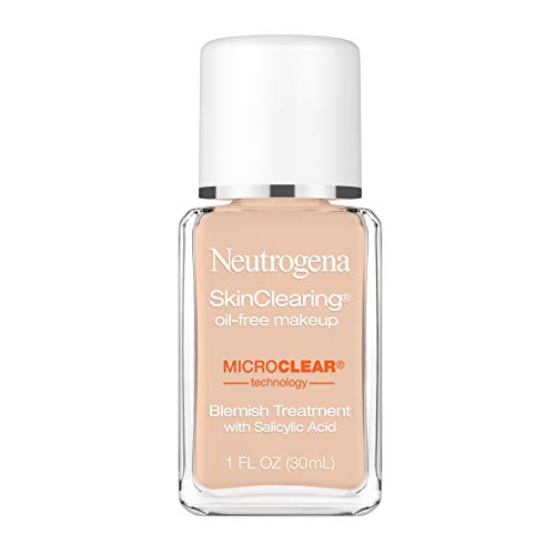 Image of Neutrogena SkinClearing Oil-Free Acne and Blemish Fighting Liquid Foundation with