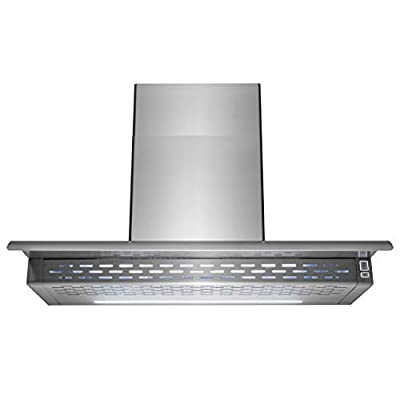 """AKDY RH0022 Wall Mount Range Hood –36"""" Stainless-Steel Hood Fan for Kitchen – 3-Speed Professional Quiet Motor – Premium Touch Control Panel – Minimalist Design – Mesh Filter & LED Lamp"""