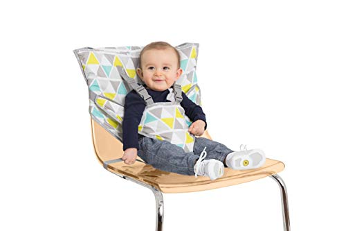 Nuby Geo Triangle Portable Travel Chair (Travel High Chair Cloth)