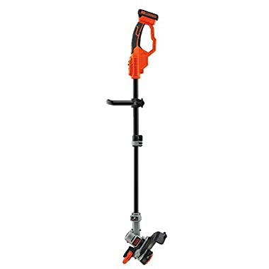 BLACK+DECKER LST420 20-volt Max Lithium High Performance Trimmer and Edger, 12-Inch