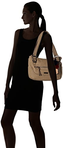 Grey Gris Grau Shoppers hombro bolsos Tamaris Mei y de Mujer zngBqw0x