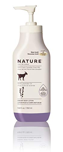 Nature by Canus Creamy Body Lotion with Fresh Canadian Goat Milk, Original Recipe, 11.8 Fluid Ounce