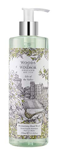 Woods Of Windsor Moisturizing Hand Wash for Women, Lily Of The Valley, 11.8 Ounce (Woods Of Windsor Lily Of The Valley)