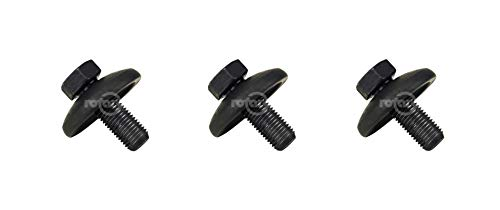 (Rotary 3 Pack 14457 Blade Bolt & Washer for Husqvarna Craftsman 532193003 193003 )