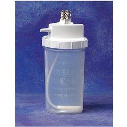 Oxygen Humidifier, Metal nut, 6 psi-Latex Free-cs/50