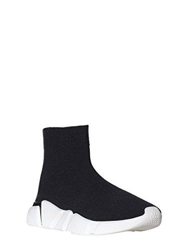Jeffrey Campbell Women's 6-Redman Weave Sock Hi-Top Trainers Black A7K5omug