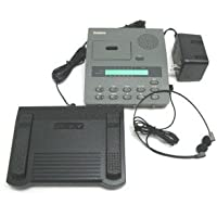 Dictaphone 3740 Reconditioned MicroCassette Tape Transcriber with New Headset, Foot Pedal & Power Supply