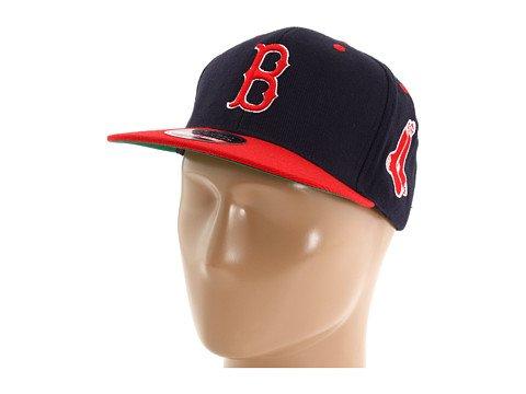 American Needle Boston Red Sox Blockhead Snapback Adjustable Hat
