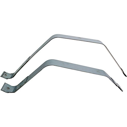Evan-Fischer EVA13372039700 Fuel Tank Strap for Ford F-150 97-03 2WD/STD Cab 30.5 Gal. Set of 2 (24 in. and 31.5 in. Length) - Ford F150 2wd Std Cab