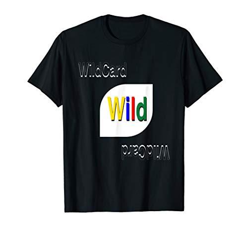 WildCard Retro Card Game T-Shirt | Halloween ()