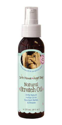 Earth Mama Angel Baby Natural Stretch Oil - 4 fl oz by Earth Mama Angel Baby