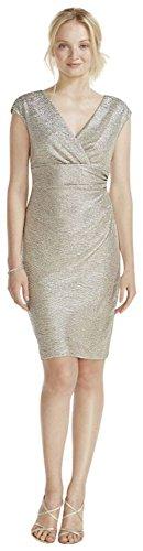 cap-sleeve-faux-wrap-v-neck-metallic-dress-style-262374i-champagne-2