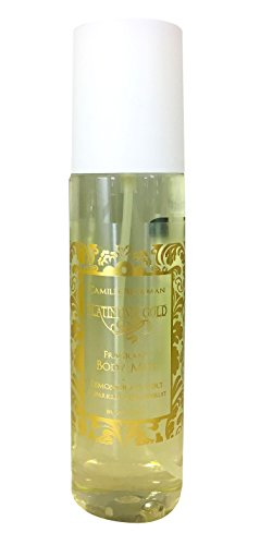 (Camille Beckman Fragrant Body Mist, Alcohol Free, Platinume Gold, Lemongrass Vert & Sparkling Grapefruit, 8 Ounce)