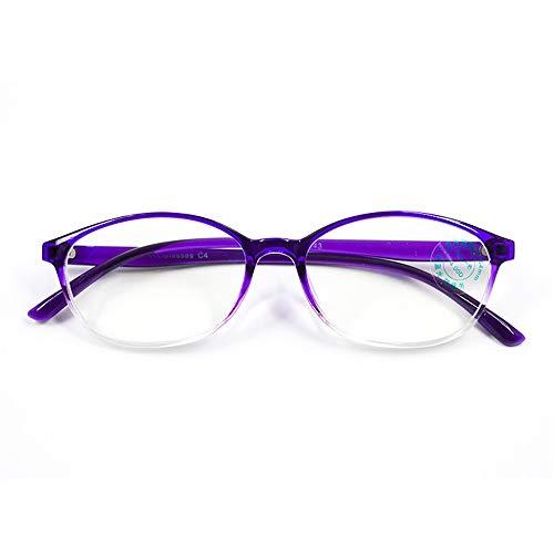 de Femmes de Lecture Ray 200 Lecture pour de Lunettes KOMNY Lecture B TR90 Lunettes Lunettes Anti oculaires Blu Bleues 5n4wvq