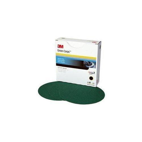 3M 01551 Green Corps Stikit 8'' 36E Grit Production Disc