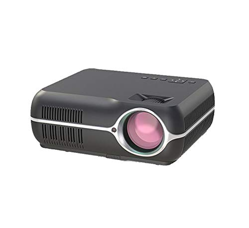 LUOJIE Projector, Mini-Micro Projector Theatre HD Office Proyector ...