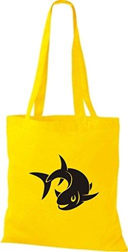 Bolso Mujer De Shirtstown Algodón Tela Para Amarillo d7wUq