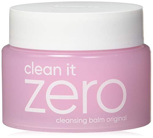 - BANILA CO NEW Clean It Zero Cleansing Balm Original - Instant Makeup Remover, Facial Wash, 100ml, Double Cleanse, Hydrates, All Skin Types, Hypoallergenic,