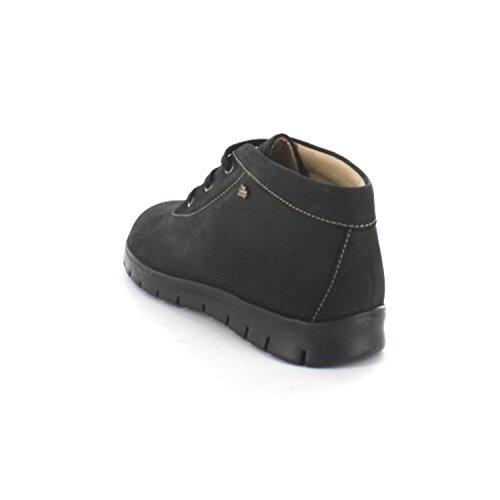 FinnComfort LEON 2854046099 Damen Stiefel, Schwarz 35 EU in Untergrößen