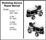 Bolens suburban GT ST tractor service repair manual 1984-1995 Library