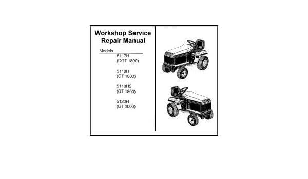 Amazon.com: Bolens suburban GT ST tractor service repair ...