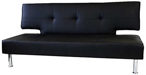 Dream magazzino Torino designer divano letto, in ecopelle, nero ...