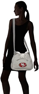 Littlearth NFL Hoodie Sling Purse, Grey