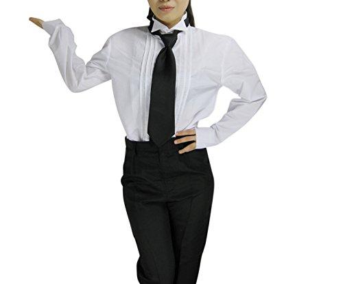 Tasso Black Butler Ii 2 Kuroshitsuji Sebastian Cosplay Costume Full Set Anime Party in Any Size (Male-M)