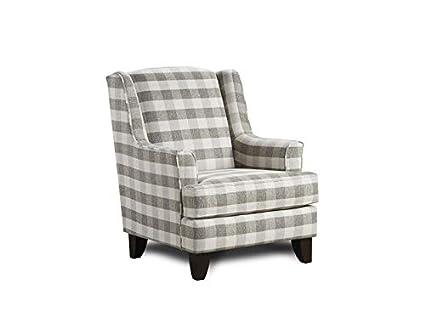Wondrous Amazon Com Fusion Upholstery Marshall Accent Chair Kitchen Beatyapartments Chair Design Images Beatyapartmentscom