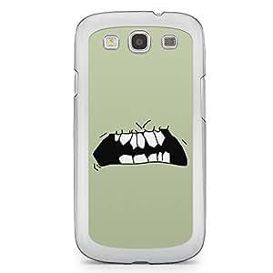Smiley Samsung Galaxy S3 Transparent Edge Case - Design 14