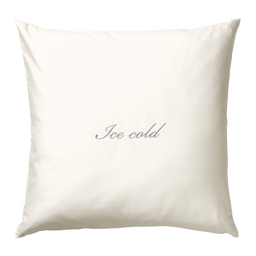 IKEA ANNBRITT - Cojín, bordado, blanco - 50x50 cm: Amazon.es ...
