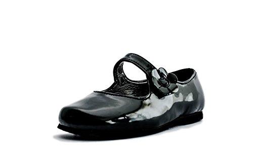 - Subibaja Kids Merceditas - Mary Jane Flats with Straps, Shoes for Girls/Toddler/Little Kid/Big Kid (8 M US Toddler, Black Patent)