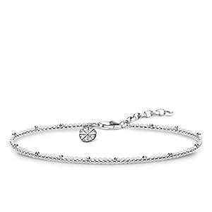 THOMAS SABO Women Silver Charm Bracelet KA0007-001-21-L19v
