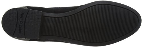 Hush Puppies Cathcart Knightsbridge, Mocasines Mujer Negro (Black/Grey)