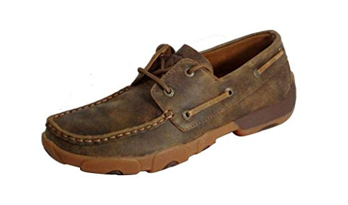 Twisted X Women'S Driving Moccasins, Color: Bomber/Bomber, Size: 7.5, Width: M (