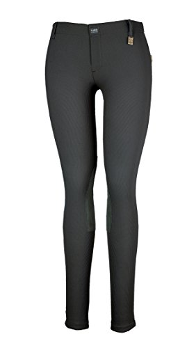 DEVON-AIRE 504 Women's All Pro Hipster Riding Breech, Black, Small