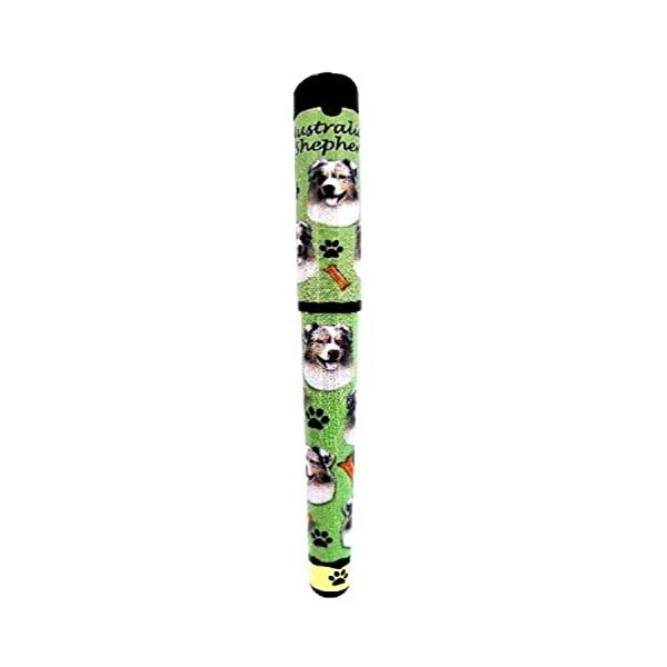 E&S Pets Australian Shepherd Pen Easy Glide Gel Pen, Refillable with A Perfect Grip, Great for Everyday Use, Perfect Australian Shepherd Gifts for Any Occasion 1