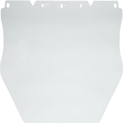 MSA V-Gard Polycarbonate Face Shield, Flat (0.060'') (15 Pack)