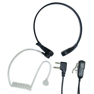 Midland Radio Midland AVP-H8 Action Throat Earset - Wired Connectivity - Mono - Over-the-ear